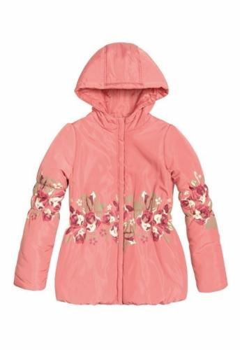 Куртка для девочек, размер 7, весна-осень, красная Pelican GZWL483