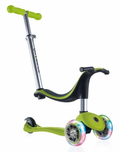Самокат-Кикборд Globber EVO 4 in1 Plus, зеленый