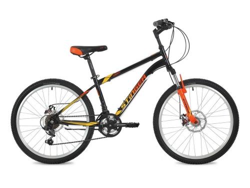 Велосипед Stinger Caiman D, оранжевый, рама 24