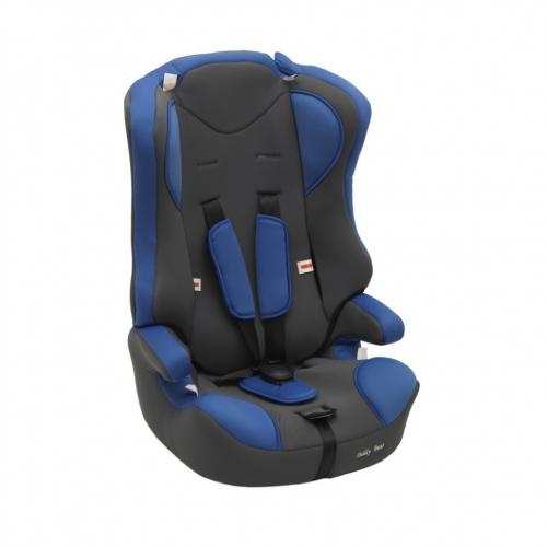 Автокресло Teddy Bear LB 513 R 1/2/3 10 deep blue/black dot