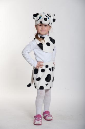 Карнавальный костюм Далматинка Лайт (манишка, юбка, маска) 3-5 лет