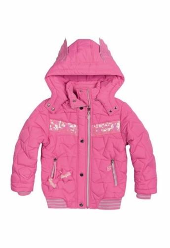 Куртка для девочек, размер 9, демисезонная, розовая Pelican GZWL484