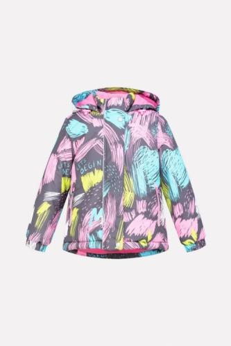 Куртка для девочки Crockid ВК 38033/н/2 ГР размер 86-92
