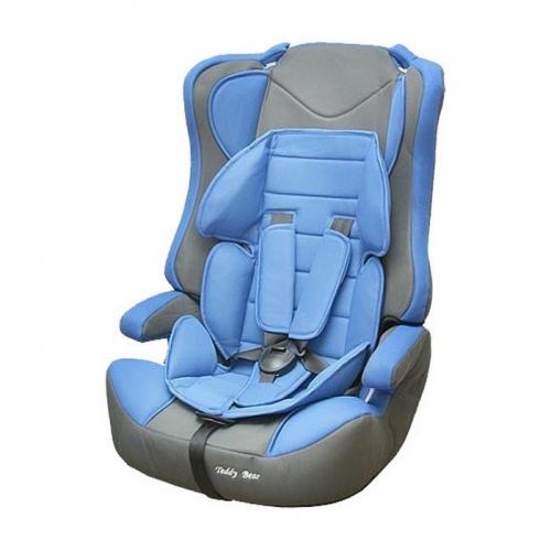 Автокресло Teddy Bear LB 513 R 1/2/3 09 blue/grey