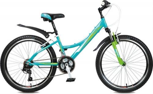 Велосипед Stinger Galaxy, зеленый, рама 24