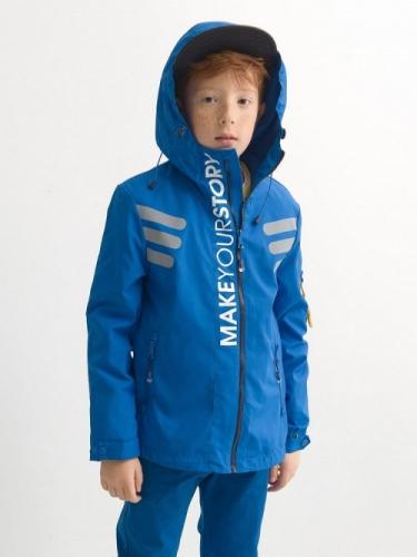Ветровка для мальчиков, размер 11, синяя Pelican