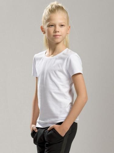 Футболка для девочки, размер 8, белый Pelican GFT4001