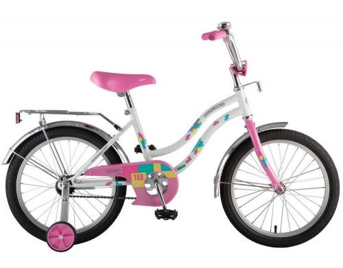 Велосипед Novatrack Tetris, белый, рама 18