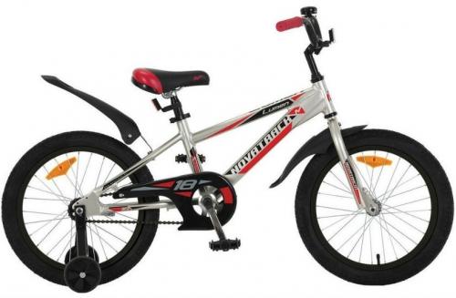 Велосипед Novatrack Lumen, серебристый, рама 18