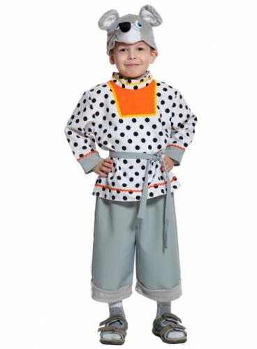Карнавальный костюм Мышонок Шуршонок, 4-7 лет