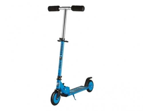 Самокат Novatrack Foxx PU колеса 125мм, синий