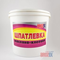Шпатлевка Brozex масляно-клеевая 15 кг