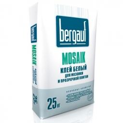 Клей Bergauf Mosaik для мозаики и прозрачной плитки 25кг