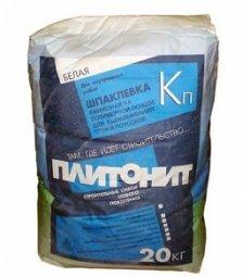 Шпатлевка Plitonit Кп финишная полимерная 20 кг