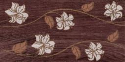 Декор Нефрит-керамика Суздаль 04-04-1-08-03-16-021-0 40x20 Коричневый