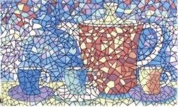 Декор Сокол Гауди D-699 орнамент глянцевый 33х20