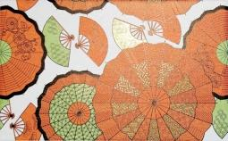 Декор Kerama Marazzi Кимоно Зонтики A1752\6162 25х40