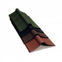 Коньковый элемент Ондулин красный длина - 1м, полезная длина 0,85 м