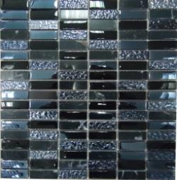 Мозаика Bonаparte Super Line (black) черная глянцевая 30x30