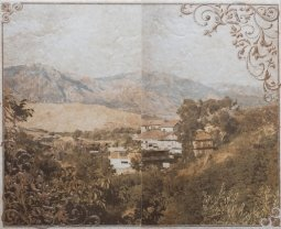 Панно Cracia Ceramica Palermo Beige Panno 01 50x40