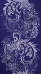 Декор Lasselsberger Азур синий 25х45