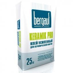 Клей Bergauf Keramik Pro усиленный для керамической плитки 25 кг