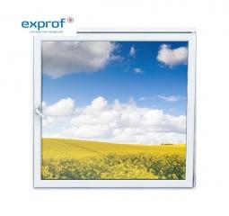 Окно ПВХ Exprof 600х600 мм одностворчатое О 1 стекло
