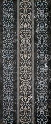 Декор Cracia Ceramica Bohemia Black Decor 01 25x60