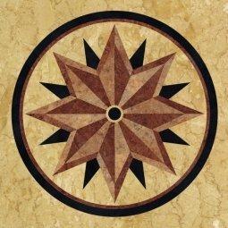 ПВХ-плитка Art Tile AM 9016 91.4x91.4