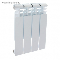 Радиатор биметаллический Oasis 004 500/80 4 секции 0.516 кВт