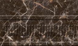 Бордюр Нефрит-керамика Пастораль 13-01-1-23-42-04-460-1 25x15 Чёрный