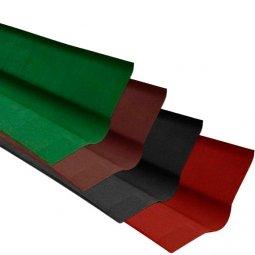 Ендова Ондулин коричневый длина - 1м, полезная длина 0,85 м