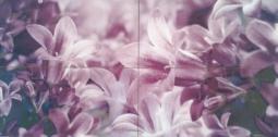 Панно Lasselsberger Flowers Bell (комплект 4 шт) 40х80