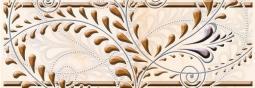 Бордюр Береза-керамика Елена каприз Фриз оранжевый 20х7