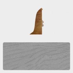 Заглушка торцевая правая (блистер 4 шт.) Т-пласт 036 Дуб Серый