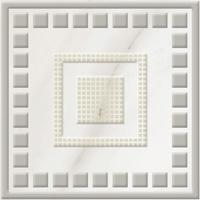 Бордюр Golden Tile Каррара белый E50003 93х93