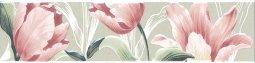 Бордюр Kerama Marazzi Норфолк Цветы STG\B270\11000T 30х7.2 зеленый