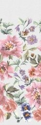 Плитка для стен Kerama Marazzi Сент-Джеймс парк Цветы 13008R 30х89.5