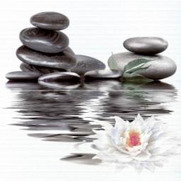 Панно Нефрит-керамика Фреш 06-01-1-23-04-04-332-0 50x50 Серый