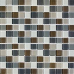 Мозаика Elada Crystal DM102 серо-бежевая 32.7x32.7