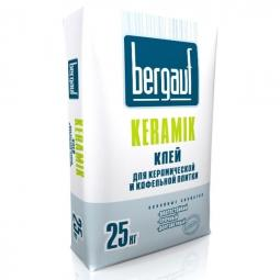 Клей Bergauf Keramik для керамической и кафельной плитки 25 кг