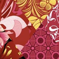 Декор Нефрит-керамика Мелкоформатная глянец 04-01-1-02-05-47-004-0 9.9x9.9 Розовый
