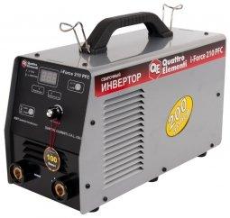 Инверторный аппарат электродной сварки Quattro Elementi i-Force 210 PFC