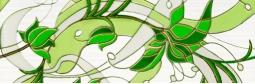 Бордюр Береза-керамика Капри ирис Фриз салатный 35х11.5