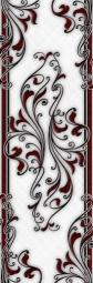 Бордюр Береза-керамика Элит Фриз белый 11,5х35
