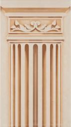 Декор Atem Sayana Column 1 YL/B 25x45