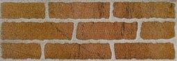 Плитка для стен Сокол Кремль KS-1 оранжевая полуматовая 12х36.5