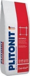 Затирка Plitonit Colorit Premium для швов до 15 мм усиленная армирующими волокнами темно-серая 2кг