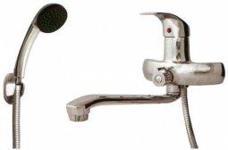 Смеситель для ванны Омега S-нос