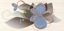 Декор Нефрит-керамика Меланж 04-01-1-10-03-11-442-0 50x25 Синий